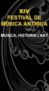 XIV Festival Musica antiga Valencia
