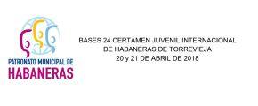 Convocat el 24 Certamen Internacional Juvenil d'Havaneres de Torrevieja2018