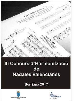 III Concurs d'Harmonització de Nadales PopularsValencianes