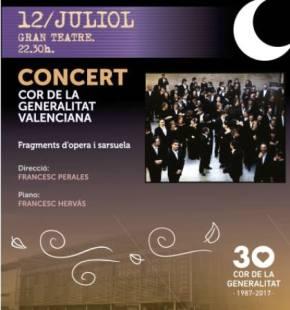 Concert del Cor de la Generalitat al GranTeatre