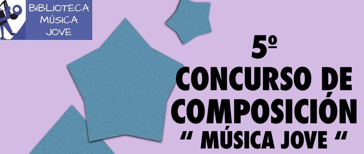 """La composició coral forma part de la 5a edició del Concurs de Composició """"Música Jove"""""""